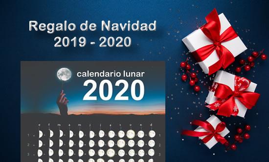 Regalo de Navidad 2019 -2020 almanaque lunar 2020
