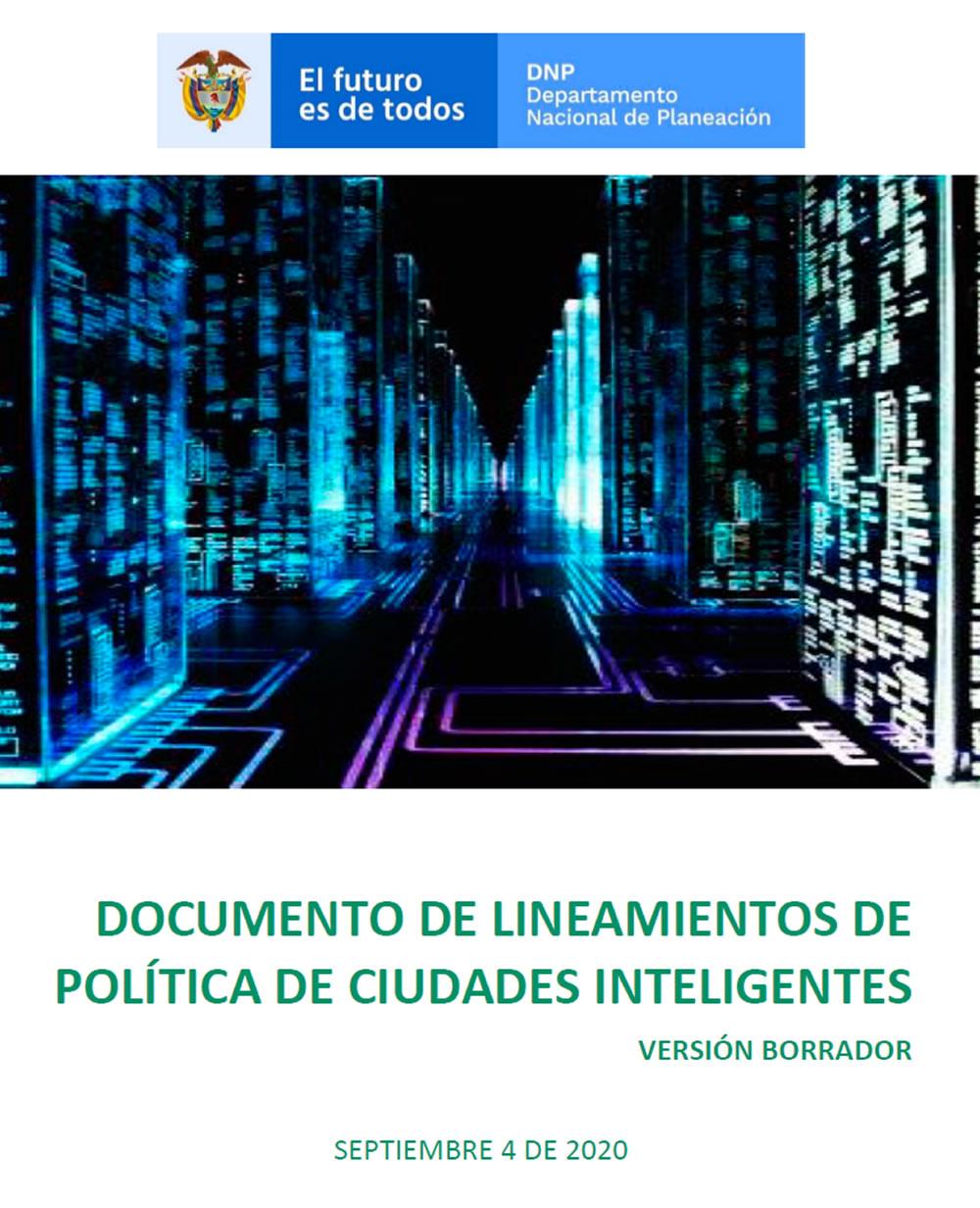 DNP publicó borrador de Lineamientos de política de ciudades inteligentes